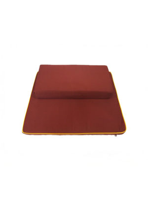 2-Pieces Meditation Cushion in Reddish Brown II