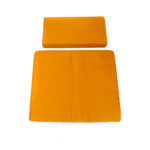 2-Pieces Meditation Cushion in Yellow I