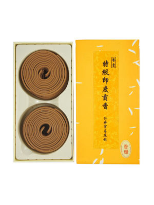 4hrs Premium India Sandalwood Coil I