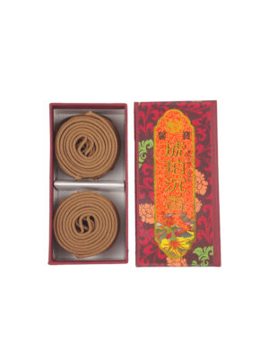 Amber Agarwood Incense Coils (2hrs) I