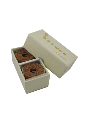 Ba Ding Premium India Sandalwood Incense Coils (1hrs) II