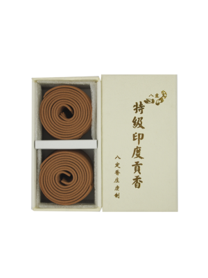 Ba Ding Premium India Sandalwood Incense Coils (2hrs) I