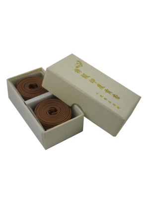 Ba Ding Premium India Sandalwood Incense Coils (2hrs) II