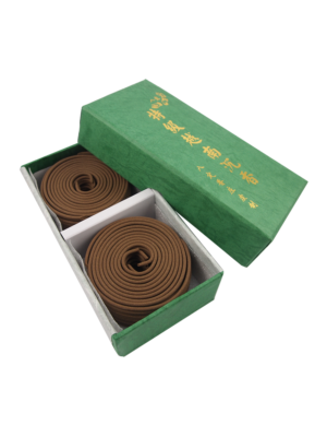 a Ding Premium Vietnam Pure Agarwood Incense Coils (4hrs) II