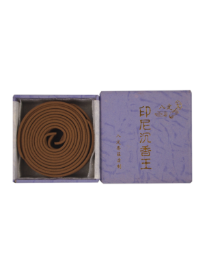 Ba Ding Top Grade Indonesia Agarwood Incense Coils (4hrs) I