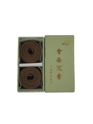 Ba Ding Vietnam Huai'An Herbal Agarwood Incense Coils (1hr) I