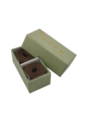 Ba Ding Vietnam Huai'An Herbal Agarwood Incense Coils (1hr) II