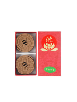 Bodhi Huai'An Agarwood Incense Coils (2hrs) I