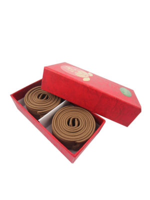 Bodhi Huai'An Agarwood Incense Coils (2hrs) II