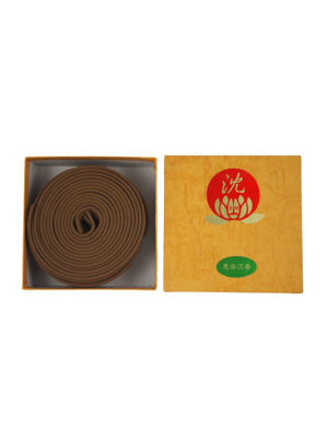 Bodhi Huai'An Agarwood Incense Coils (8hrs) I