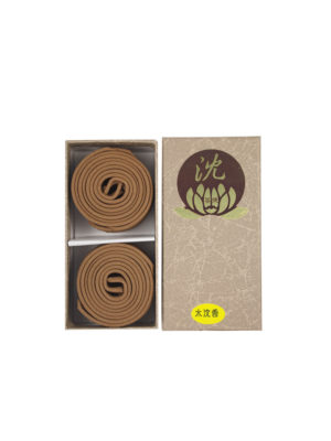 Bodhi Huai'An Light Agarwood Incense Coils (2hrs) I