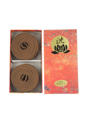 Bodhi Premium Huai'An Light Agarwood Incense Coils (4hrs) I