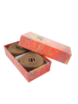 Bodhi Premium Huai'An Light Agarwood Incense Coils (4hrs) II