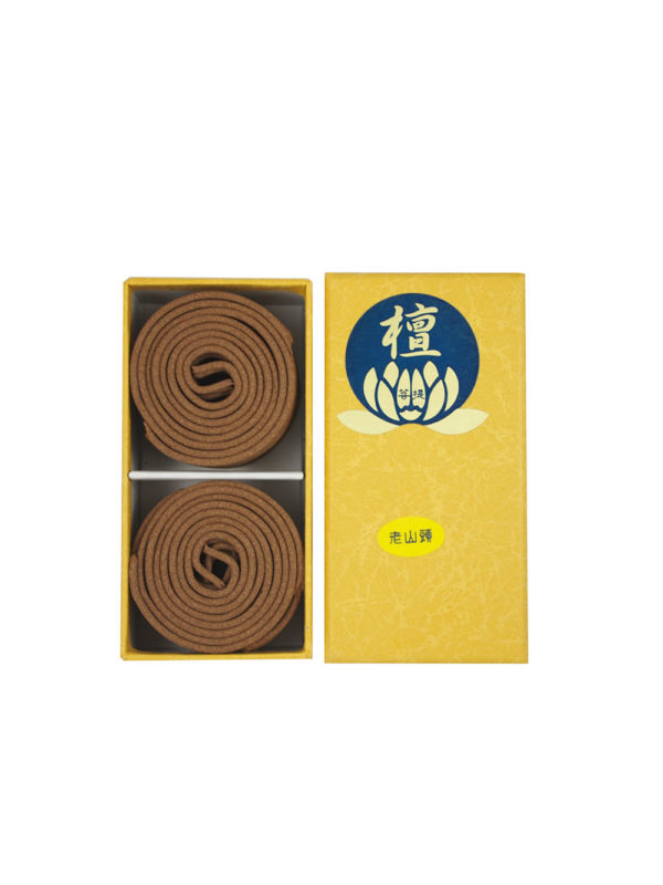 Bodhi Top Grade India Sandalwood Incense Coils (2hrs) I