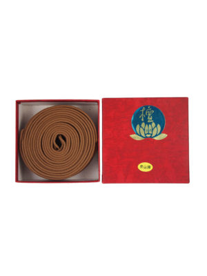 Bodhi Top Grade India Sandalwood Incense Coils (8hrs) I