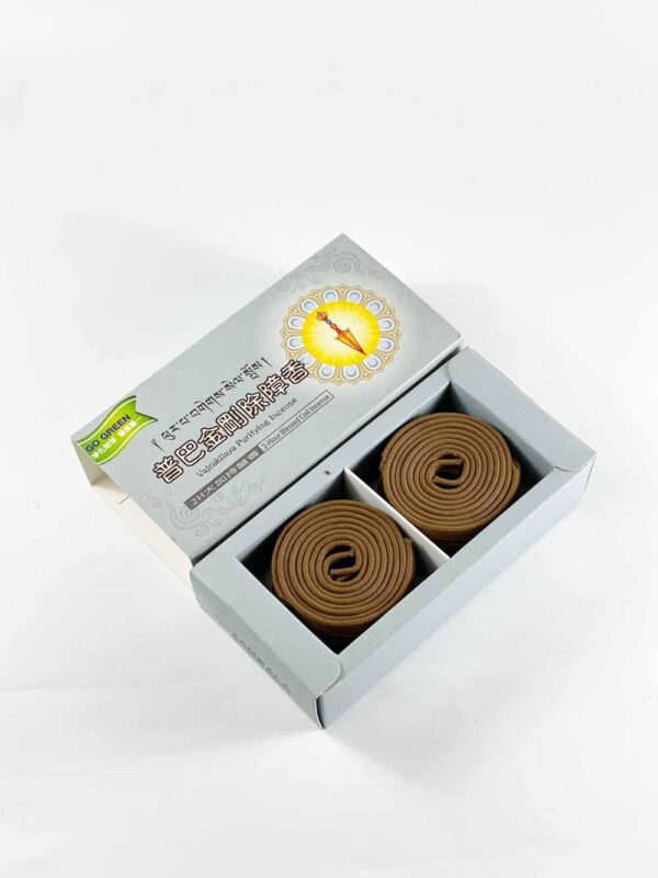 Zambala Vajrakilaya Protection Incense Coils (2hrs) II