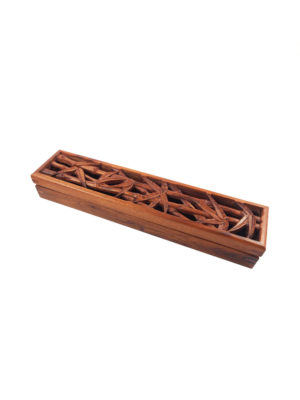 Bamboo Box Incense Stick Burner I