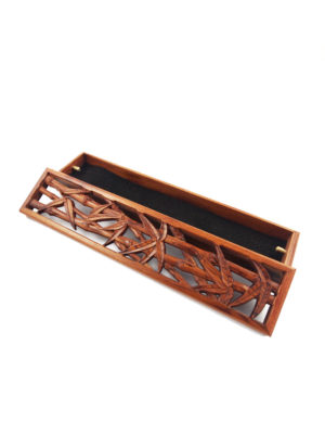 Bamboo Box Incense Stick Burner II