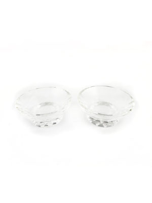 Crystal Stand Candle Holder Set 2