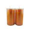 Cylinder Shortening Candle Lamp in Orange (Medium)