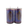 Cylinder Shortening Candle Lamp in Purple (Medium)