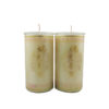 Cylinder Shortening Candle Lamp in White (Medium)
