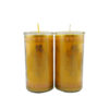 Cylinder Shortening Candle Lamp in Yellow (Medium)