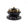 Lotus Embossed with Lotus Stand Incense Burner I