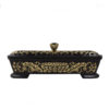 Lotus Oṃ Maṇi Padme Hūṃ Incense Sticks Burner in Balck (Small) I