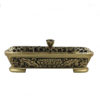Lotus Oṃ Maṇi Padme Hūṃ  Incense Sticks Burner in Gold (Small) I