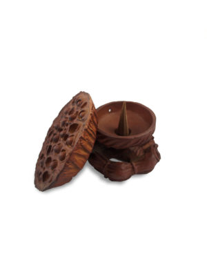 Lotus Seed Pod Incense Burner 4