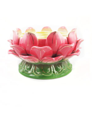 Lotus-shaped Seven Candles Holder 1
