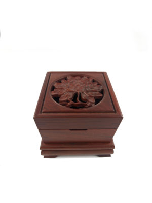 Prosperity Peony Box Incense Burner II