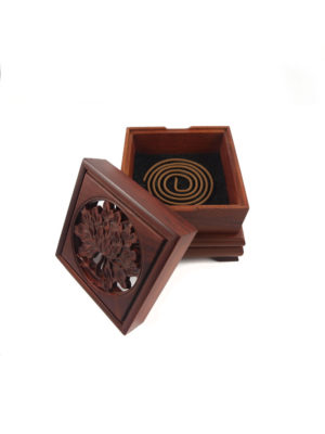 Prosperity Peony Box Incense Burner IIII