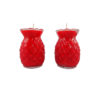 Prosperity Shortening  Candle Lamp in Red (Small)