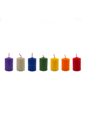 Shortening Candle (7-colour Set)