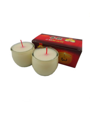Shortening Candle Cup in White II