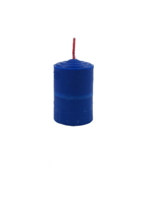 Shortening Candle in Blue