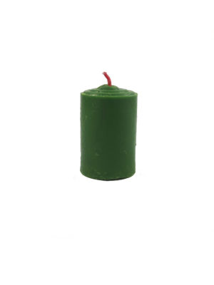 Shortening Candle in Green