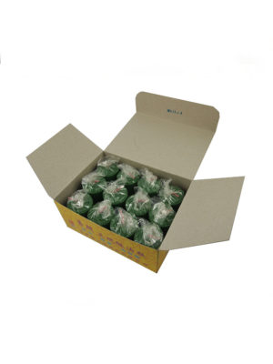 Shortening Candle in Green (Box)