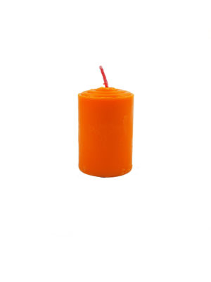Shortening Candle in Orange