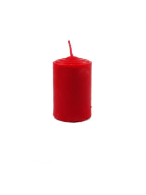 Shortening Candle in Red