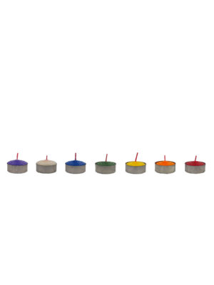 Tealight Shortening Candle (7-colour Set)
