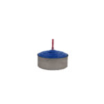 Tealight Shortening Candle in Blue