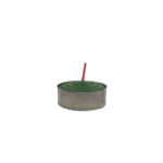 Tealight Shortening Candle in Green