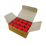 Tealight Shortening Candle in Red (Box)