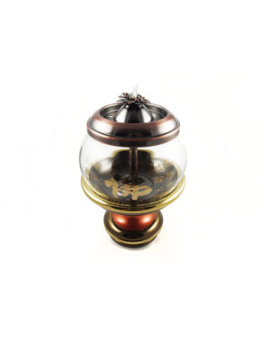 Bronze Lid Oil Lamp 2
