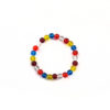 Colours of Buddha Flag Bracelet (8mm) 1