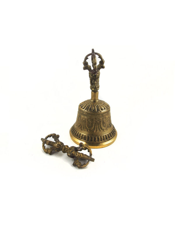 Copper Vajra & Bell Set (Big) 1