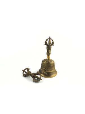 Copper Vajra & Bell Set (Small) 1